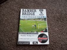 Bamber Bridge v Lancaster City, 1994/95